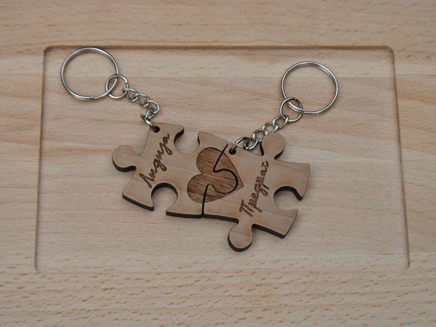 Puzzle srce sa imenima  750 din